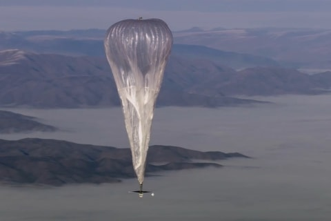 Google's Project Loon Close to Launching Thousands of Internet Balloons