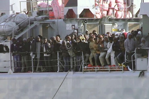 Migrant Boat With Up to 700 On Board Capsizes South of Italy
