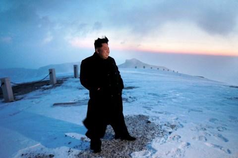 Kim Jong Un Scaled North Korea's Mt. Paektu, State-Run Media Report