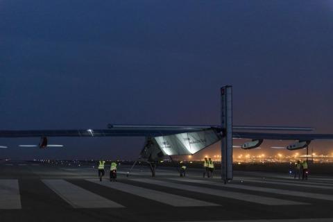 Solar Impulse Plane Lands in Nanjing: Next Stop, Hawaii
