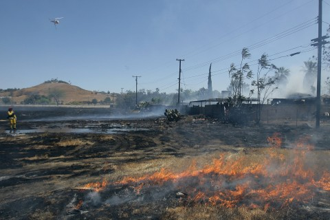 California Drought Drives an 'Explosive,' Longer Wildfire Season