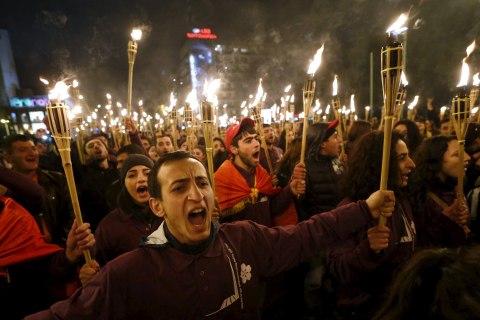 Armenians Around the World Mark 100th Anniversary of Mass Killings