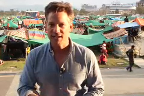 Richard Engel Reports on Aftershocks in Nepal