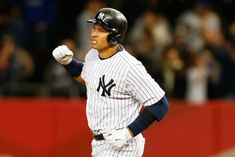 Alex Rodriguez Hits 659th Home Run, One Shy of Willie Mays' Record
