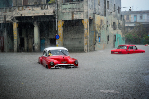 Havana Hit With Heavy Rain, Flooding