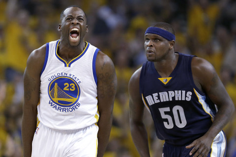 NBA Playoffs: Warriors Blow Out Grizzlies in Game 1