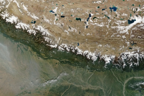 How Geology Gives Rise Repeatedly to Monster Earthquakes in Nepal