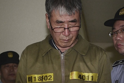 Sewol Disaster: South Korea Jails Captain of Doomed Ferry for Life