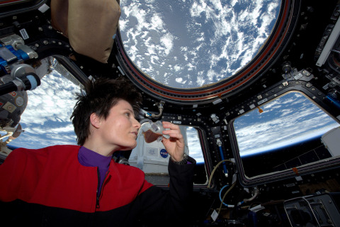 'To Boldly Brew': Italian Astronaut Sips First Espresso in Space