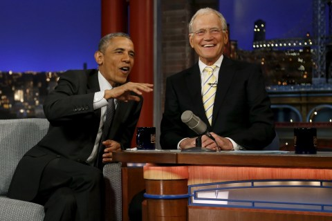 Obama to David Letterman: 'You've Given Us a Great Gift'
