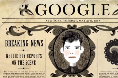 Karen O Sings Google Doodle Tribute Song to Nellie Bly