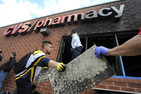 CVS Health to Rebuild Stores Burned in Baltimore Riots