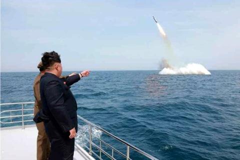 North Korea Submarine Missile Footage Isn't Real, U.S. Admiral Says