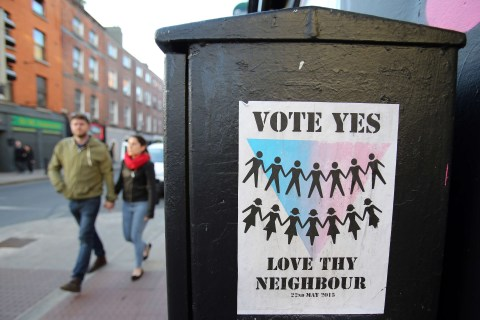 Ireland Same-Sex Marriage Referendum Sets Government Against Church