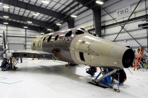 Virgin Galactic's SpaceShipTwo 2.0 Puts 'Weight on Wheels'