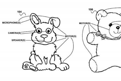 Google Patents Toys That Watch and Listen to Your Kids