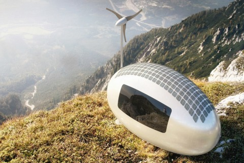 Live Off the Grid in This Solar-Powered 'Ecocapsule' Pod