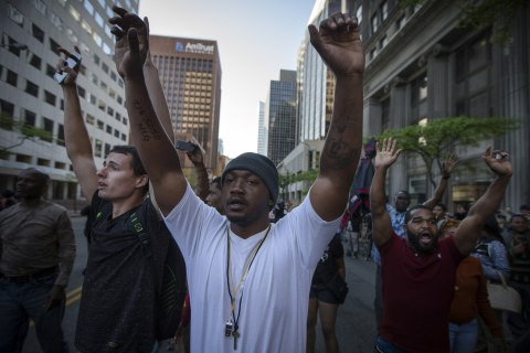 Cleveland Protests, Arrests Follow Michael Brelo Acquittal