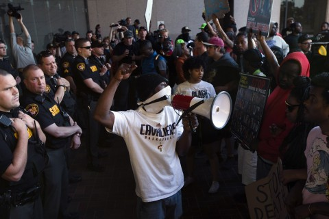Cleveland Protests Over Michael Brelo Acquittal Lead to 71 Arrests