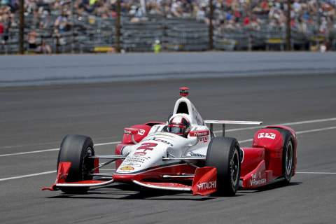 Juan Pablo Montoya Wins the 99th Running of Indianapolis 500