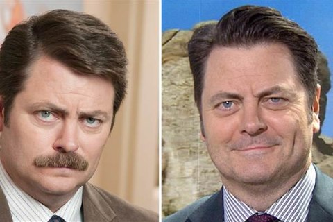 Nick Offerman on Missing Mustache: It Was Only a 'Tool'