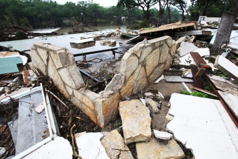 Texas Flood Damage Revealed as Waters Subside