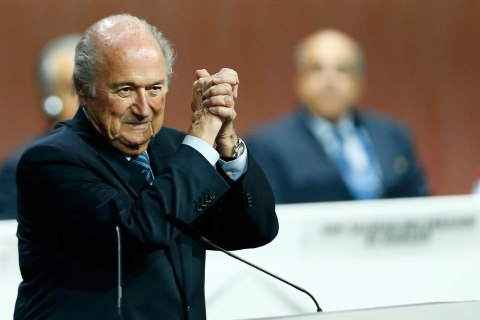 FIFA President Sepp Blatter Wins New Term Amid Corruption 'Storm' in Zurich