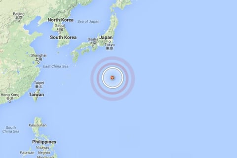 Japan Earthquake: Large But Very Deep Temblor Strikes Offshore
