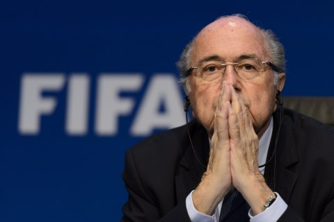 FIFA's Blatter Comes Out Fighting Despite Scandal and Divisions