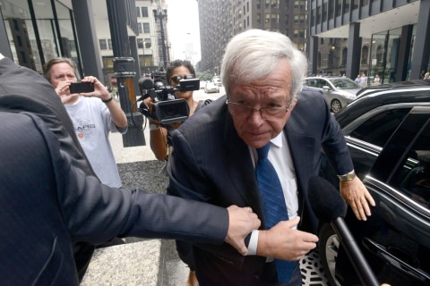Ex-House Speaker Hastert Requests Sentencing Delay, Citing Illness