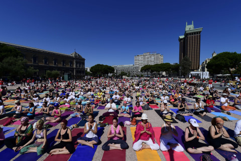 Sun Salute: Millions Around World Bend and Twist for Yoga Day
