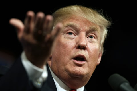 'Professional Suicide': Donald Trump's Mouth Chews Hole in Wallet