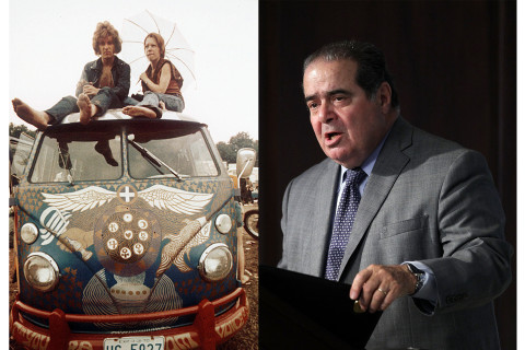 Justice Scalia's Gay Marriage Advice: 'Ask the Nearest Hippie'
