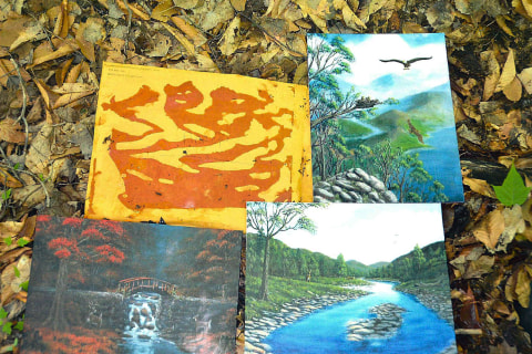 Richard Matt Allegedly Gave These Paintings to Prison Guard Gene Palmer