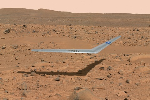 A Drone Airplane for Mars? Way-Out Red Planet Ideas Are Taking Flight