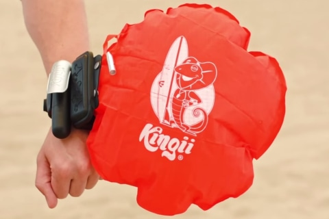 Wrist-Mounted Kingii Device Inflates in an Instant to Prevent Drowning