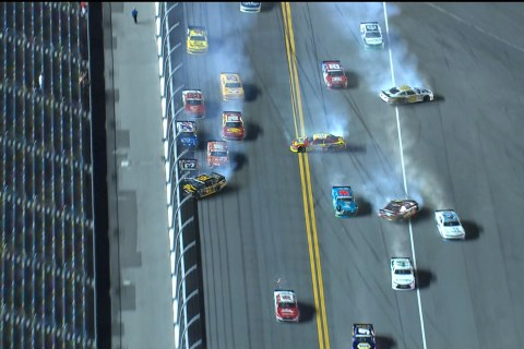 Austin Dillon Wins Wild Xfinity Series Race At Daytona