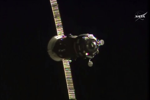 Russian Progress Ship Makes Space Station Delivery