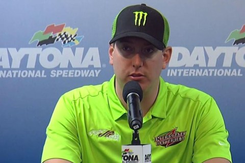 Kyle Busch Returns to Site of His Crash for Coke Zero 400