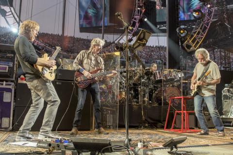 Grateful Dead Break U2's Ticket Record for Chicago's Soldier Field