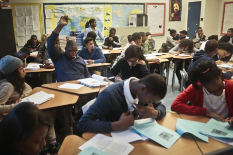 'All In' Campaign Aims To Get More Latino Students In AP