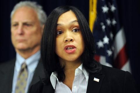 Officers in Freddie Gray Case Suing Marilyn Mosby