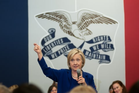 Hillary Clinton: GOP on 'Spectrum of Hostility' Towards Immigrants