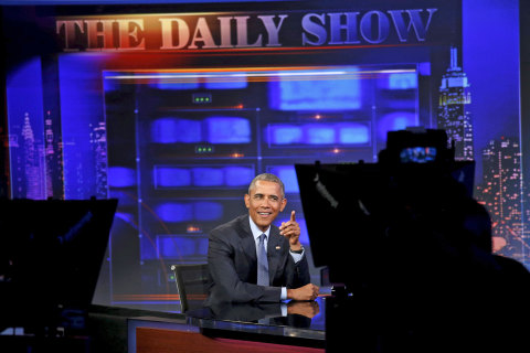 Obama on 'Daily Show': 'A Bunch of Other Things We Want to Get Done'
