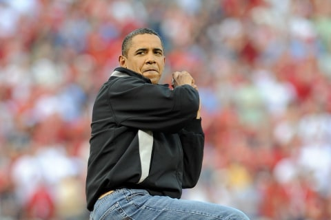 First Fan: Watching Baseball Game with President Obama