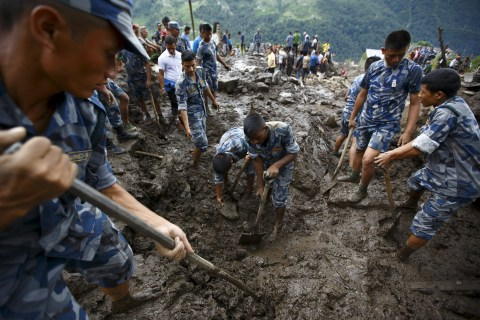 Landslide Close to Popular Trekking Route Kills 30 Near Pokhara, Nepal