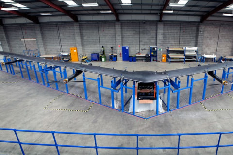 Facebook Shows Off Its Solar-Powered 'Aquila' Internet Drone