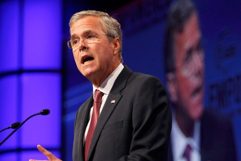 Jeb Bush to Lester Holt: Donald Trump's Surge in the Polls Is a 'Phenomenon'