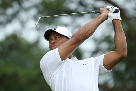 Tiger Not Done Yet, in Contention at Quicken Loans National