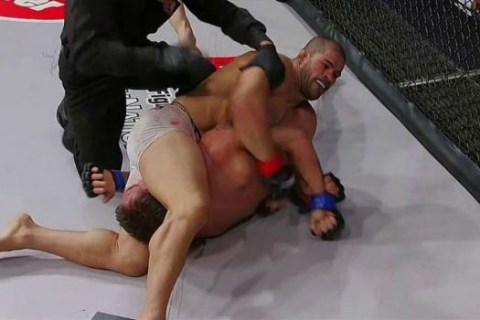 WATCH: Rousimar Palhares Submits Jake Shields, Won't Let Go